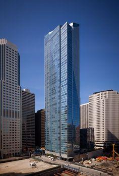 Um dos edifícios mais altos dos EUA está a afundar-se