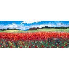 Timmy Mallett - Poppy Profusion (Canvas)