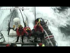 ▶ The full force of the Atlantic - Volvo Ocean Race 2008-09 - YouTube