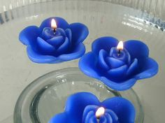 floating candles! For the centerpieces