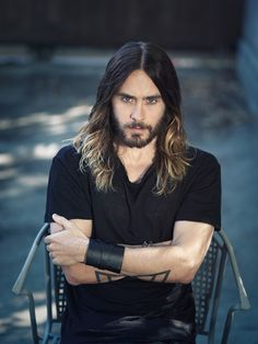 Jared Leto: I'm usually not into guys with long hair and beards (it's either one or the other lol) but this man right here is everything!