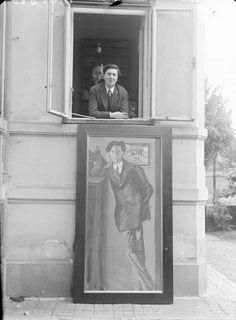 Alban Berg, Painting by Arnold Schönberg