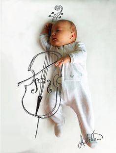 Cute and Creative Baby Illustrations by Adele Enersen (5)