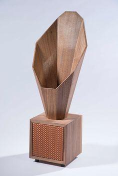 desktop horn speaker on Industrial Design Served
