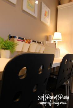 A Pop of Pretty: Canadian Decorating Blog - http://apopofpretty.com/basement-family-room-renovation/