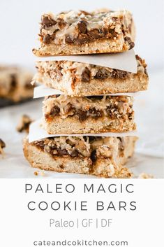 Paleo Sweets, Paleo Dessert, Dessert Recipes, Dairy Free Recipes, Real Food Recipes, Paleo Recipes, Gluten Free, Brownie Recipes, Cookie Recipes
