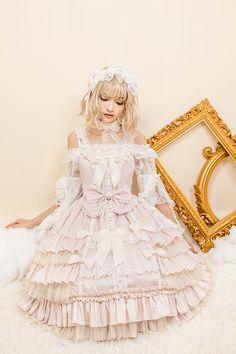 Little Dipper -Pure Angel- Sweet Classic Lolita Jumper Dress