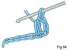Half treble (htr) Crochet