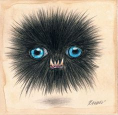 Just a fuzzy ball of fanged love for you... :-)