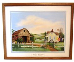 LAST 1 OF THIS NEW JOHN DEERE 1950'S 720 TRACTOR FRAMED COLLECTIBLE PRINT #JohnDeere