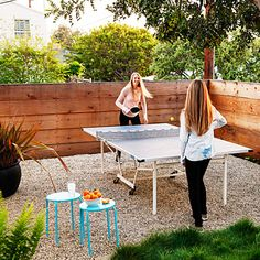 Sports court after - Before and After: Outdoor rooms for everything - Sunset