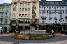 Slovakia is so great, I cannot wait to travel it someday. Bratislava Slovakia, I Cannot Wait, Beautiful Pictures, Street View, Travel, Viajes, Pretty Pictures, Destinations, Traveling