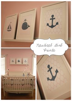 Love these nautical prints
