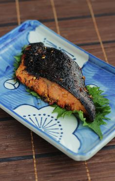 Soy ginger glazed salmon