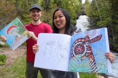 Creators Touring The Country With Colouring Book Sequel Legendary Worlds