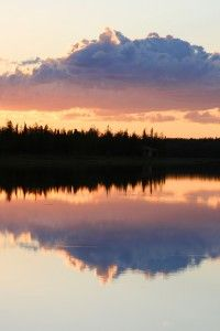 Alaska has places set particularly for sunset viewing