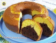 Ciambella alla panna e cacao, ricetta golosa Blog Profumi Sapori & Fantasia