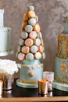French Dessert Style Cakes such as Crepe cakes, croquembouche, meringues and macarons are set to be big for 2015.