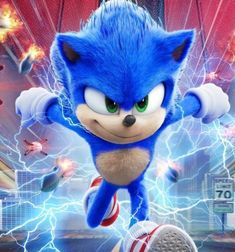 """The Second Sonic trailer has dropped recently. Or as I prefer to call it, the first """"real"""" trailer of Sonic the Hedgehog! Sonic The Hedgehog, Hedgehog Movie, Sonic The Movie, The Sonic, Jim Carrey, Fotos Do Sonic, Die Macher, Marvel Comics, Sonic Birthday"""