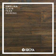 KROYA Gmelina Stain Teak Doreng Hardwood Floors, Flooring, Wood Species, Plank, Closer, Texture, Wood Floor Tiles, Surface Finish, Wood Flooring