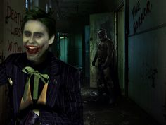 The Cast Of Suicide Squad Fan Art Of The In The 2016 Movie Suicide Squad   Jared Leto As The New Joker