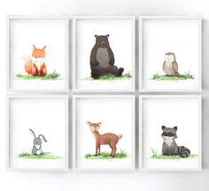 owl Meri Meri Pack of Woodland Creatures Brooches rabbit Gift idea squirrel