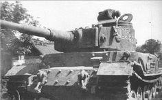 Tiger (P) Porsche n°003, Eastern front