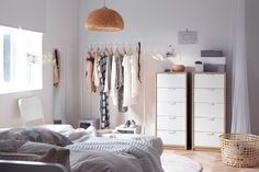 A rail-ly good open storage solution!Featured Products  ASKVOLL MULIG BÖJA (Source: everyday.ikea.com)