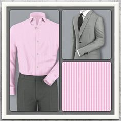 This slimming grey suit from shawtailors.com makes the perfect business-to-evening attire. After you close the deal, head out to the pub for a celebration scotch and let the ladies take notice. If you need something louder, then pair it with a bright pink shirt and watch it drown out the band.