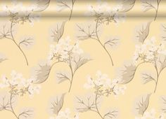 Millwood Camomile Wallpaper from Laura Ashley