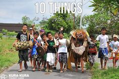 10 Things to do in Bali with Kids #bali #indonesia #tips