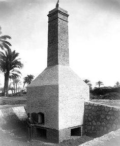 محارق القمامه بالمنيا - مصر سنه ١٩٢٤