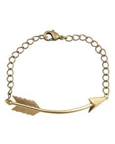 Arrow Bracelet Gold