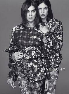 Mother/Daughter for Givenchy. How adorable (and totally chic) is this?