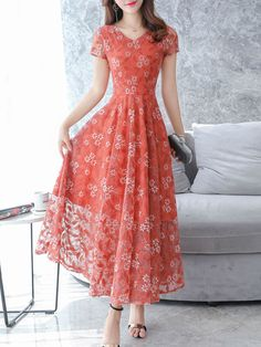 V Neck Floral Printed Lace Maxi Dress Simple Cheap Chic Shop V Neck Floral Printed Lace Maxi Dress online. The post V Neck Floral Printed Lace Maxi Dress appeared first on Gesundheit. Cheap Maxi Dresses, Stylish Dresses, Fashion Dresses, Dresses For Work, Dresses Dresses, Stylish Clothes, Floral Dresses, Long Dresses, Lace Maxi