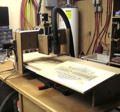 Gregs CNC Machine and example ML: it's amazing... there are endless projects possible to make with such a thing.