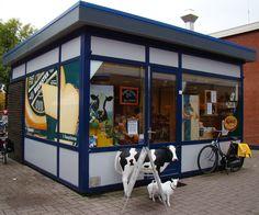 Winkelcentrum 'T Plateau in Spijkenisse, Zuid-Holland
