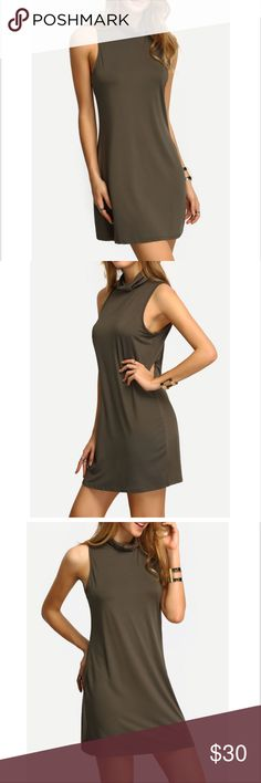 ☄️FINAL PRICE☄️PLUS SIZE XXXL Brand New Tank Dress Plus Size Tank Dress Fabric : Fabric has some stretch Season : Summer Type : Tank Pattern Type : Plain Color : Green Dresses Length : Short Style : Casual Material : Polyester Neckline : Cowl Neck Silhouette : A Line Bust(cm) : XL:102cm,XXXL:110cm Length(cm) : XL:89cm,XXXL:91cm Sleeve Length : Sleeveless Size Available : XL,XXXL M7 Dresses