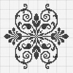 Other 08 | Free chart for cross-stitch, filet crochet | gancedo.eu: