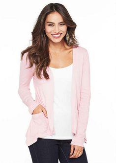 Open Cardigan - Plus Size Tops - Alloy Plus - Alloy Apparel