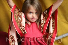 #NixieClothing Butterfly Dress #Kids fashion #up-cycled #luxury