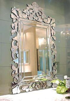 Ablaze Sylvia Venetian Wall Mirror