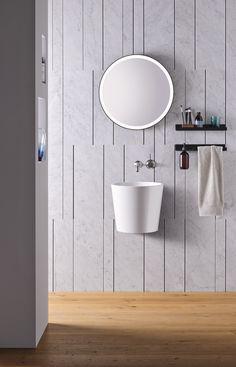 Bad Inspiration, Bathroom Inspiration, Bathroom Showrooms, Next Bathroom, Shelving Systems, Shelf System, Bathroom Sink Faucets, Bathrooms, Bathroom Shelves