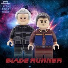 **NEW**LYL BRICK Custom Blade Runner Lego minifigure, set of 2
