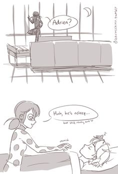 Miraculous Ladybug — baraschino: my first ladrien comic and it ...