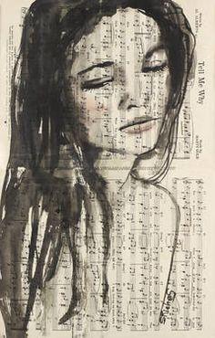 "Saatchi Art Artist Sara Riches; Painting, ""Tell Me Why"" #art"