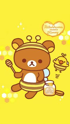 Sanrio Characters, Disney Characters, Rilakkuma Wallpaper, Winnie The Pooh, Pikachu, Hello Kitty, Cartoon, Phone Wallpapers, Cute
