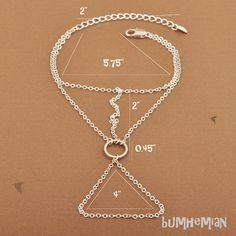 Slave Bracelet// Simple Cable Chain With Round Link by Bumhemian