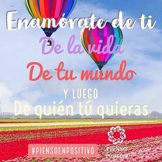Enamórate de ti, de tu vida, tu mundo y luego de quién tú quieras... • ❁ GO! NAMASTE ॐ #yopiensoenpositivo #piensoenpositivo #pienso_en_positivo  #citas #hooponopono #motivacion #emprendedores #emprende #vive #yoga #felicidad #publicidad #namaste #love #smile #happy #go  @by.piensoenpositivo . 🔝Compártela Etiqueta a Otros🔝 PIENSA EN POSITIVO VIVE EN POSITIVO
