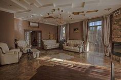 Дизайн помещения каминный зал